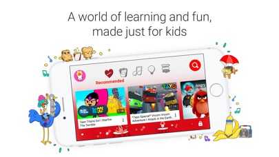 Screenshot for YouTube Kids in Malaysia App Store