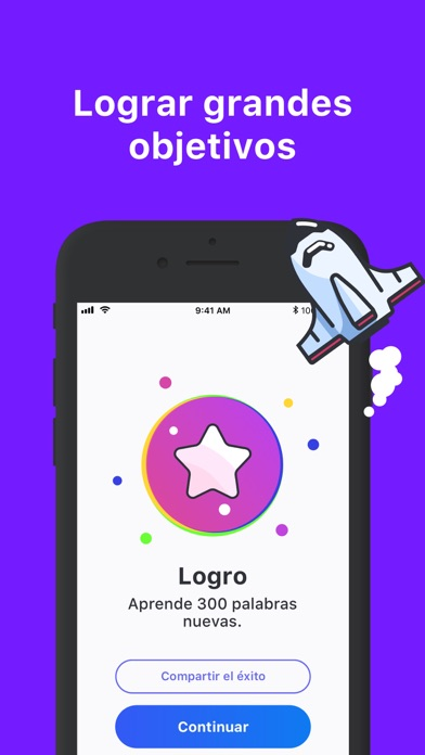 Screenshot for Rocka: Aprender inglés in Colombia App Store