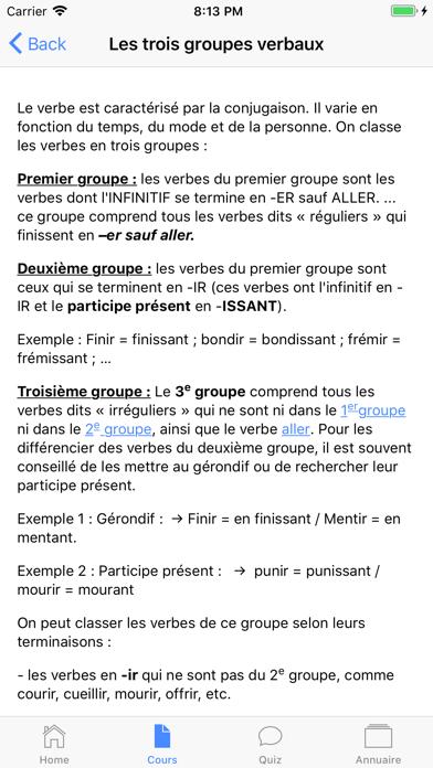 Français 6ème screenshot 2