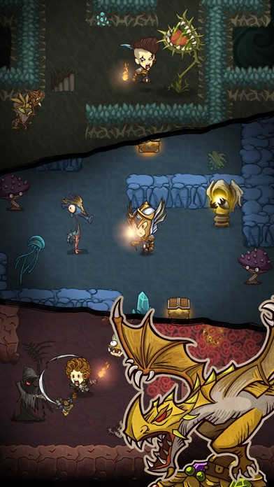 Screenshot for The Greedy Cave in Viet Nam App Store