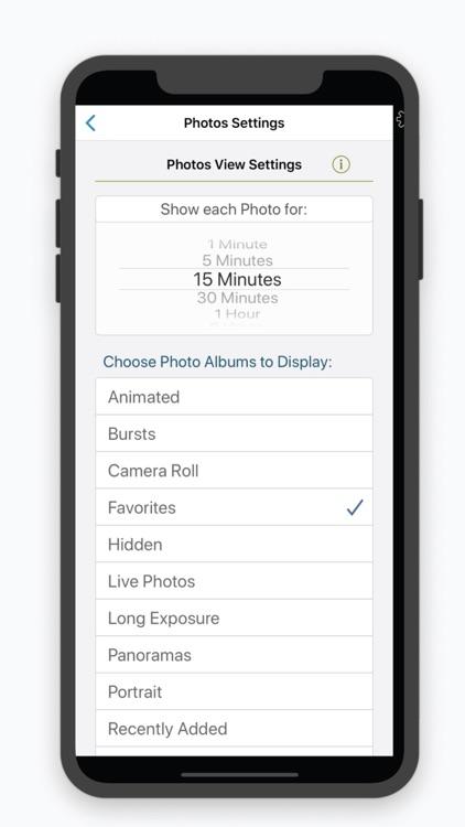 Clocke: Clock Calendar Photos! screenshot-7