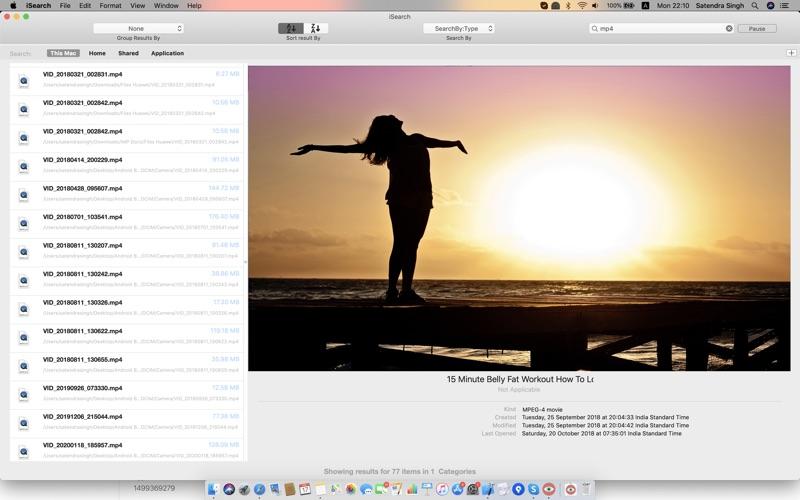 iSearch скриншот программы 2