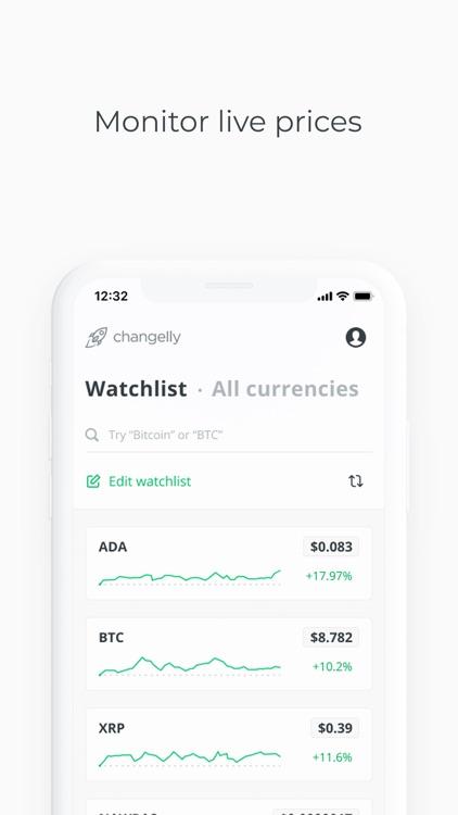 Changelly: Crypto Exchange screenshot-5
