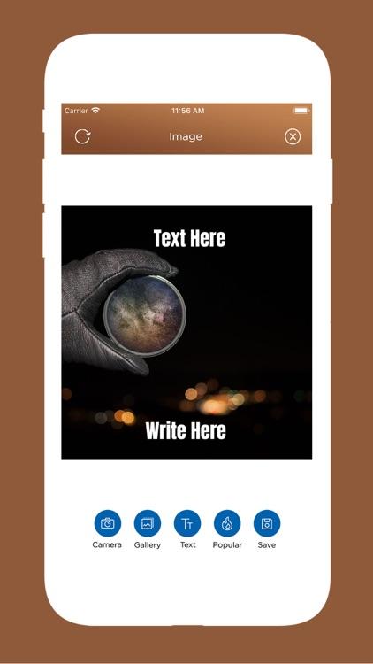 TextPhoto: Write Text On Photo