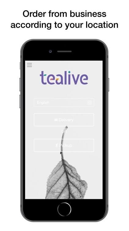Tealive G.E Mall Ordering