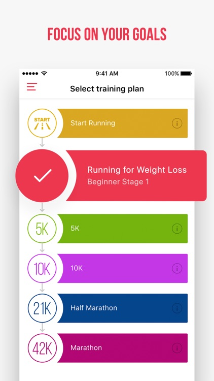 Weight Loss Running by Verv screenshot-4