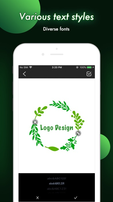 Logo Design - Maker & CreatorScreenshot of 3