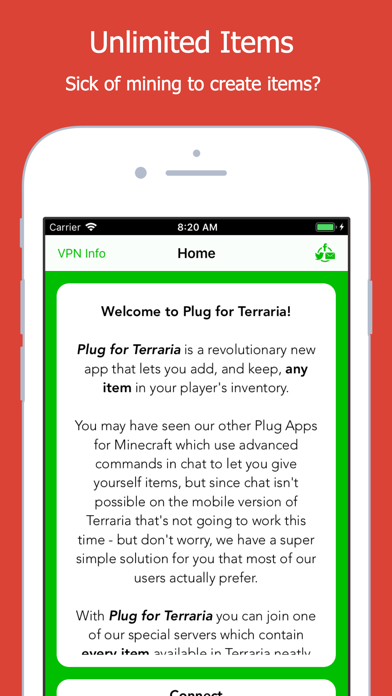 Plug for Terraria by Innovative Developers LTD (iOS, United States