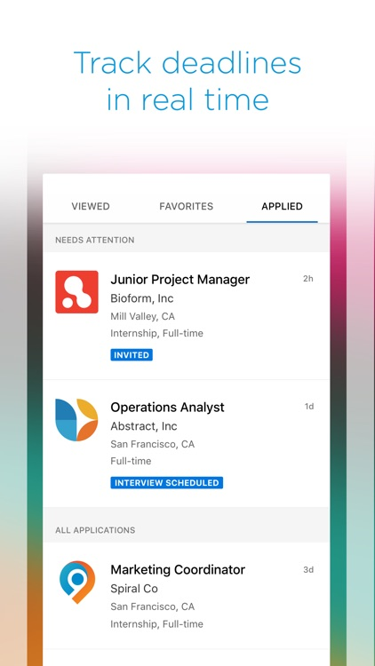 Symplicity Jobs and Careers screenshot-3