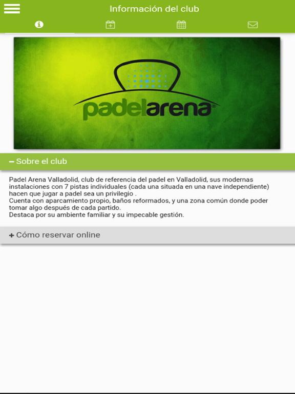 Padel Arena Valladolid screenshot 5