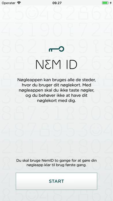 Screenshot for NemID nøgleapp in Denmark App Store