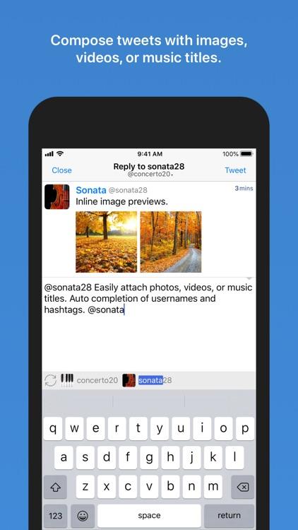 Tweetlogix for Twitter screenshot-7