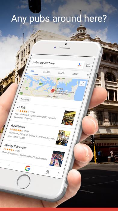 Screenshot for Google in New Zealand App Store