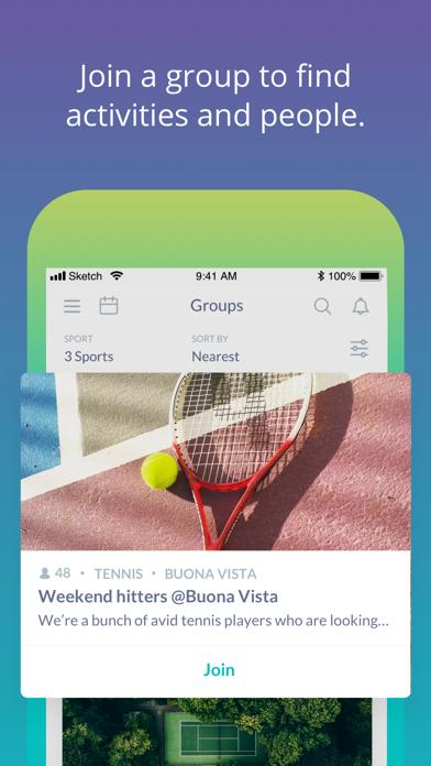 Rovo - Find Sports Buddies screenshot four