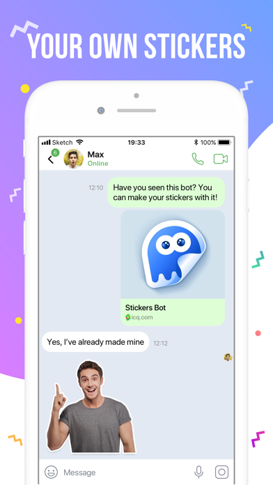 ICQ – Video Calls & Chat App by ICQ (iOS, United States