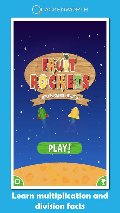 Fruit Rockets Multiplication screenshot three