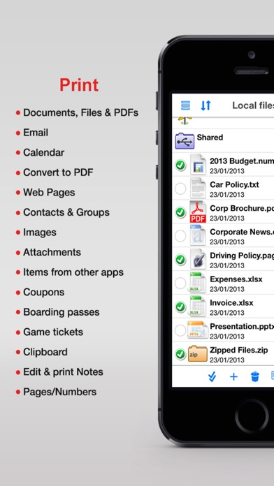 Print N Share review screenshots