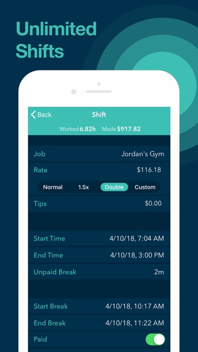Clock In for Work Hour Tracker