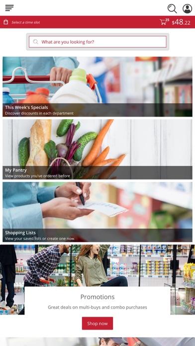 Marketon Supermarkets screenshot 1