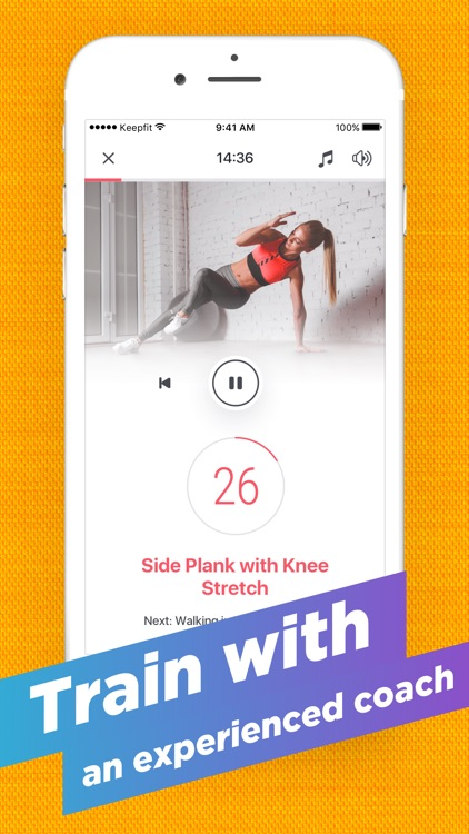 KeepFit - Home Workouts