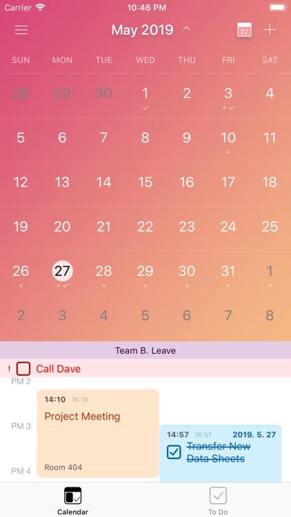 Cal.Do - Calendar and To-Do screenshot-4