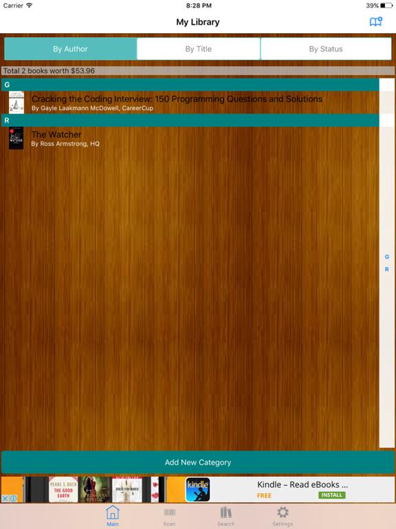 My Library Basic screenshot