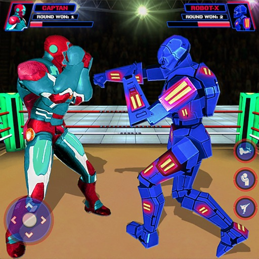 Robot Fight Ring VS Heros