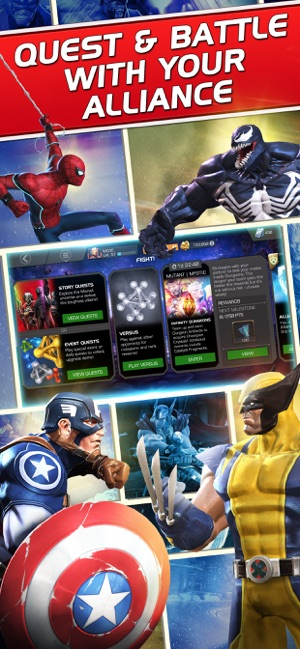 Hack Game Marvel Contest of Champions ipa free