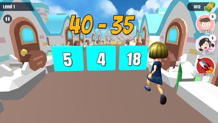 Run Math Runner – Solve Quiz screenshot-3