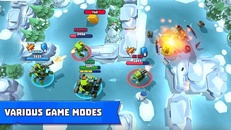 Tanks a Lot - War of Machines screenshot-5
