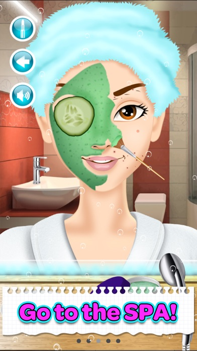 messages.download Back To School Makeup Games software