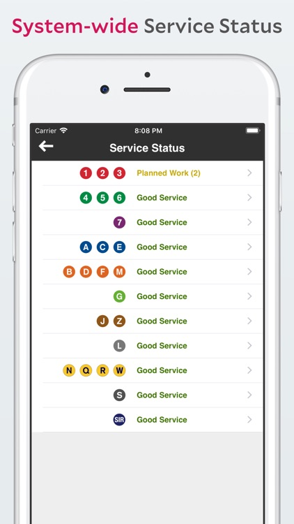Underway: NYC Subway Transit screenshot-5