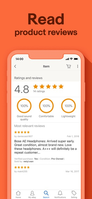 eBay - Buying and Selling on the App Store