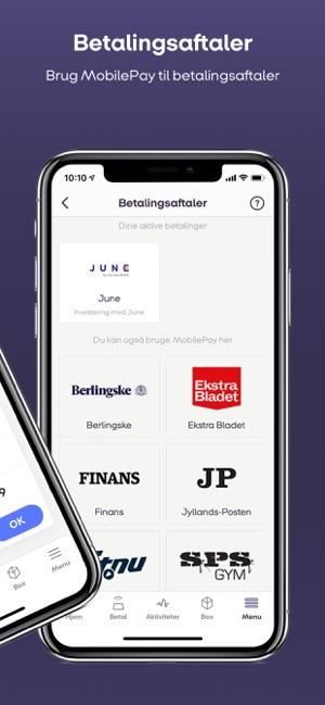 app til mobilepay