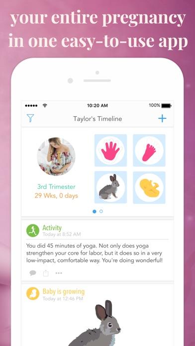 Screenshot #2 pour Ovia Pregnancy Tracker
