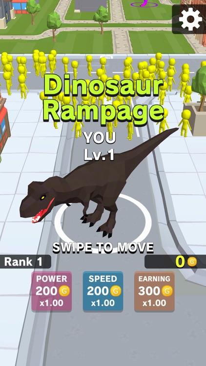 Dinosaur Rampage screenshot-0