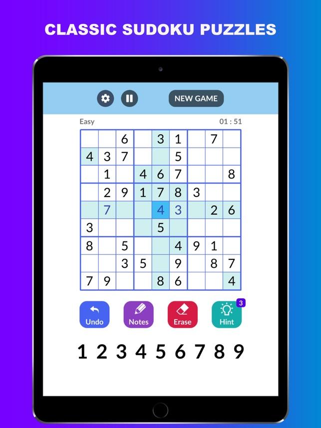 Sudoku : Classic Sudoku Games on the App Store