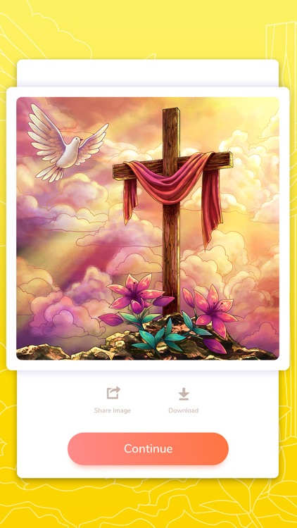 Bible Coloring Paint by Number screenshot-4