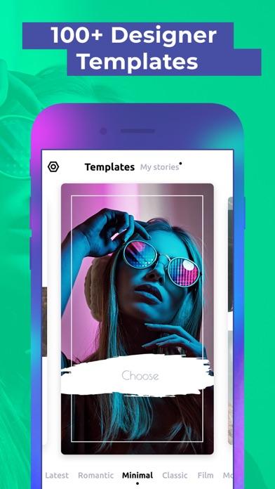 Dazzle: Instagram story editor Screenshot