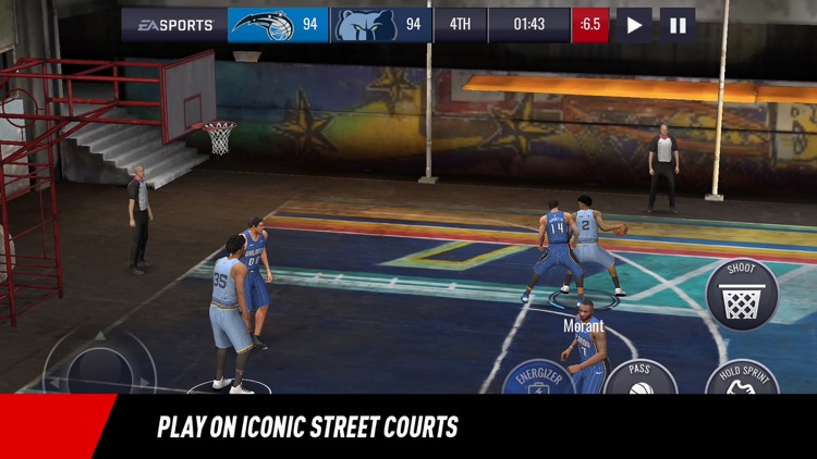 NBA LIVE Mobile Basketball screenshot-4