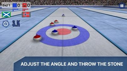 Curling 3D - Championship screenshot two