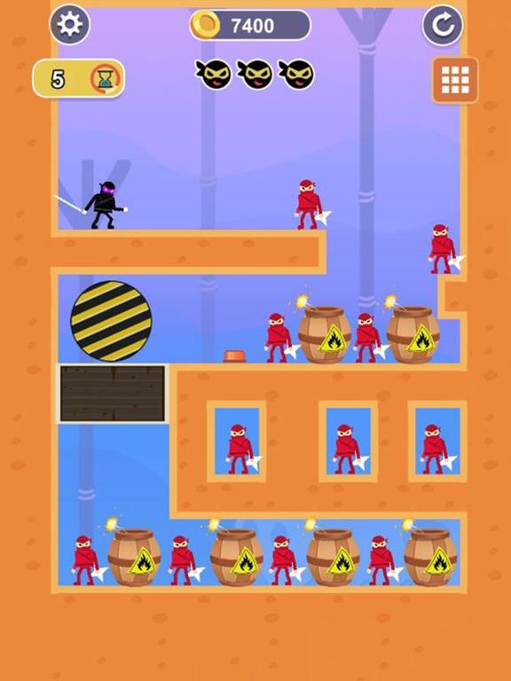 Ninja Critical hit screenshot 9