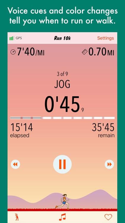 Run 10k - couch to 10k program screenshot-4
