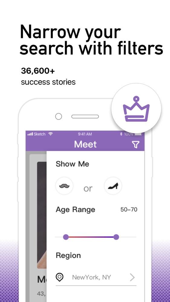 Dating-app für über 40