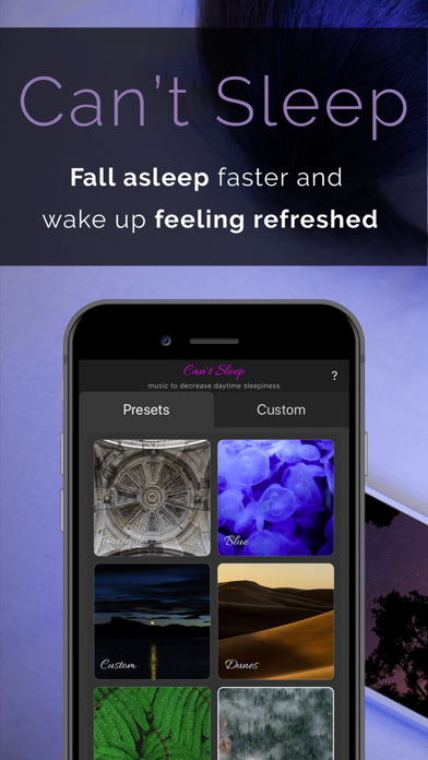 Can't Sleep – music noise app