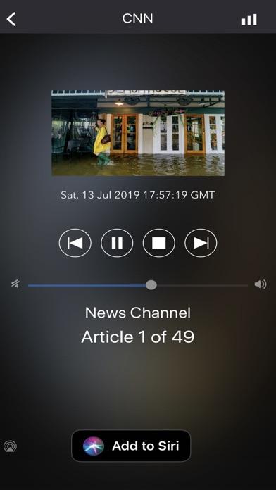 NewsFlash for CarPlay Screenshots
