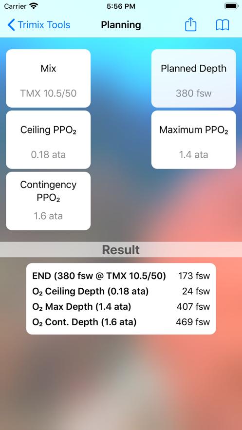 Trimix Tools App 截图
