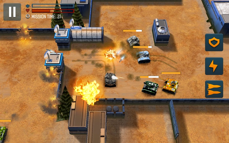 Tank Battle Heroes: PvP Brawls screenshot 4