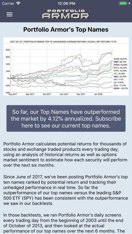 Portfolio Armor screenshot-5
