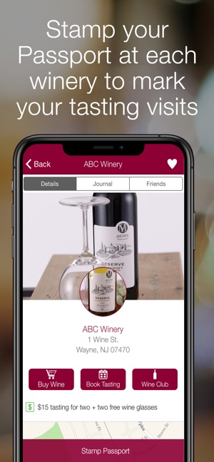Winery Passport - Wine Maps on the App Store